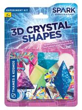 Spark Science: 3D Crystal Shapes Experiment Kit Z