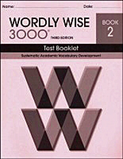Wordly Wise 3000 Book  2 Tests 3rd Edition