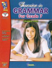 Exercises In Grammar Grade 7