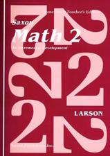 Saxon  Math  Grade 2 Teacher's Only Z