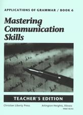Applications of Grammar Book 6 Teacher's Manual Z