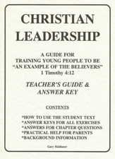 Christian Leadership Teachers Z