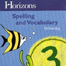 Horizons Spelling & Vocabulary 1 Set