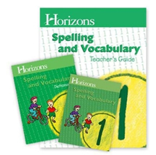 Horizons Spelling & Vocabulary for Early Elementary